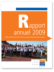 Rapport Annuel 2009 de la Ligue contre le cancer