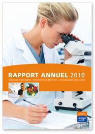 Rapport Annuel 2010 de la Ligue contre le cancer