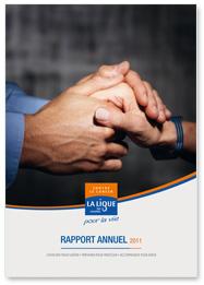 Rapport Annuel 2011 de la Ligue contre le cancer